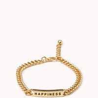 Happiness ID Bracelet