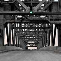 8 x 12 print rusted industrial bridge 40% OFF with code JANUARYSALE Cleveland, fine art photography, home and office decor