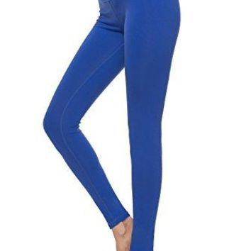 Charaland Womens Yoga Leggings Mid Waist Running Gym Pants Activewear Leggings Ankle Length Power Flex W Pocket XSXL