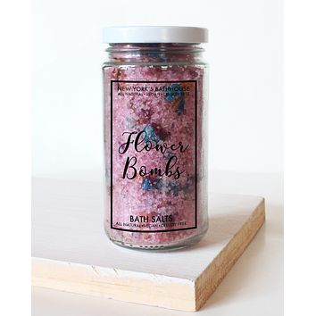 Flower Bombs Bath Salts