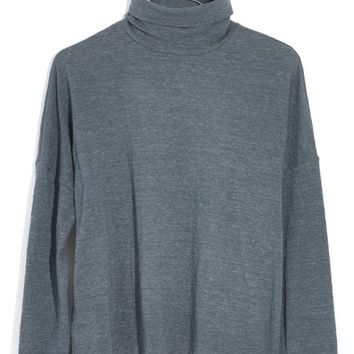 Madewell Boxy Turtleneck Top | Nordstrom