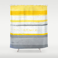Enthused Shower Curtain by T30 Gallery