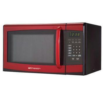 .9cuft Microwave Oven Red
