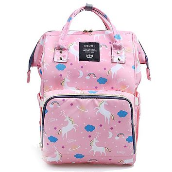 Insulated Diaper Backpack