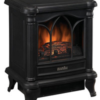 Duraflame DFS-450-2 Carleton Electric Stove with Heater Black