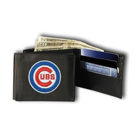 Chicago Cubs MLB Embroidered Billfold Wallet