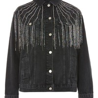 MOTO Dazzle Fringe Jacket - New In Fashion - New In
