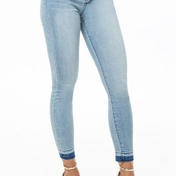 Released-Hem Super Skinny Jeans