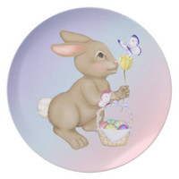 Spring Welcome Easter Bunny