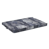 MicroVelvet Cool Gel Memory Foam Mattress Crate Pad — Nightfall