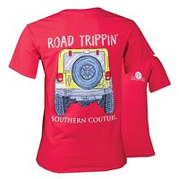 Southern Couture Road Trippin Jeep Comfort Colors T-Shirt