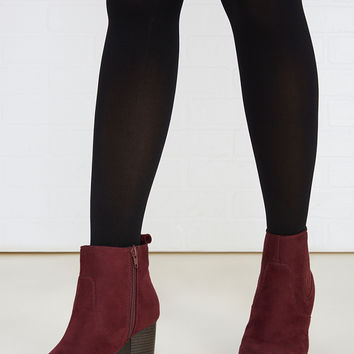 Body Shaping Opaque Tights | Wet Seal