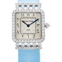 18K White Gold Diamond Iris Retro Watch | Moda Operandi