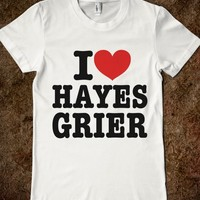 I HEART LOVE HAYES GRIER T-SHIRT (IDC810228)