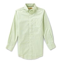 Class Club 8-20 Textured Grid-Print Shirt - Mint