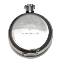 Flask // To My Health - 3 oz.