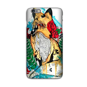 iPhone 6 plus case - iPhone 6 plus cover - Phone case - Cell Phone case - Phone cover - Fox phone case - Fox art - Watercolor iPhone