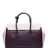 Cherry Leather Tote Bag by Bally - Moda Operandi