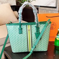 Tory Burch Newest Fashion Women Shopping Leather Handbag Tote Satchel Crossbody Shoulder Bag