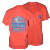 Comfort Colors WDE Monogram Tee by Tiger Rags