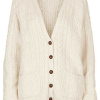 Tall Knitted Cable Cardi - New In This Week  - New In