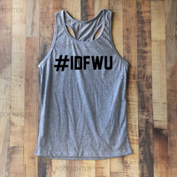 IDFWU Shirt Tank Top Racerback Racer back T Shirt Top – Size S M L