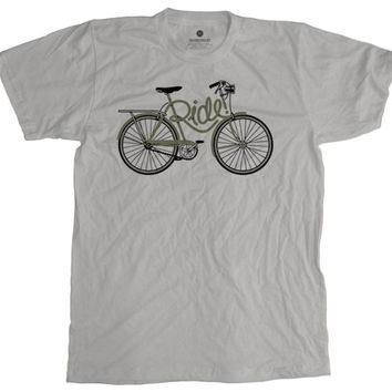 Ride Frame New Silver T-Shirt