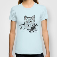Fox Hope T-shirt by Robin Maria Pedrero