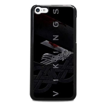 vikings 1 iphone 5c case cover  number 1