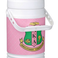 Sorority Personal Beverage Igloo Cooler, AKA - Price includes UPS Standard Shipping Price