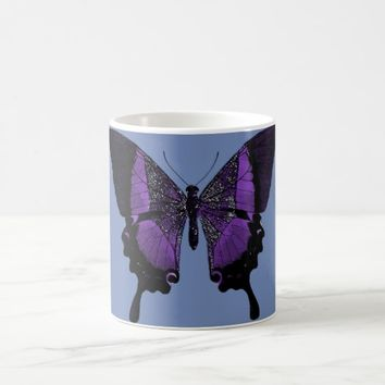 Purple Butterfly Coffee Mug