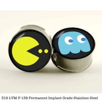 Pac Man Plugs by Plug Club — Plug Club