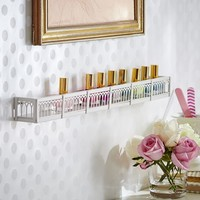 Scalloped Nail Polish Organizational Shelf