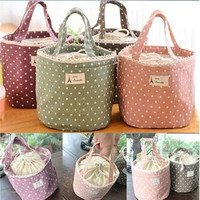 Thermal Insulated Lunch Box Tote Cooler Bag Bento Picnic Pouch Lunch Container [10198321287]