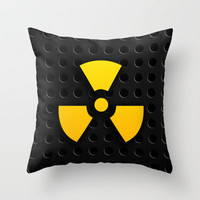 Nuclear Reactor Throw Pillow by Digi Treats  | Society6