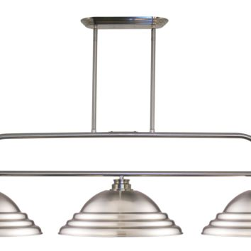 Annora 3 Shade Short Ceiling Pool Table Light