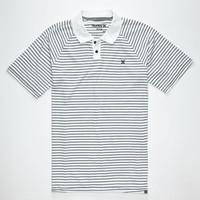 Hurley Dri-Fit Saloon Mens Polo Shirt White  In Sizes