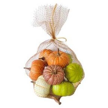 Harvest Pumpkin Filler Decor (Solid Colored Pumpkins)