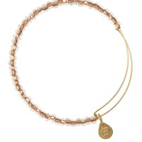 Alex and Ani Sand Shimmering Sea Bead Bangle - Yellow Gold