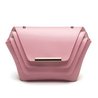 Ellia Wang Geometry Layer Handbag in Pink