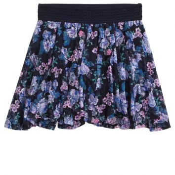 PRINTED LACE SKIRT | GIRLS NEW MARKDOWNS SALE | SHOP JUSTICE