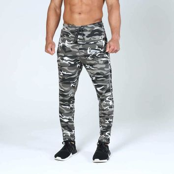 NEW lightweight mid waist sweatpants Mens brand army military clothing casual skinny camouflage camo pants