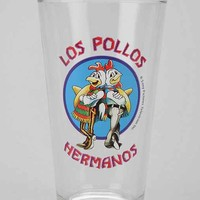 Breaking Bad Los Pollos Hermanos Pint Glass- Los Pollos One