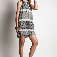 Lunar Eclipse Indian Boho Life Dress