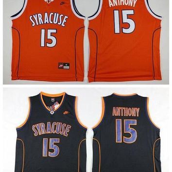 2016 new arrivals,Syracuse Orange,high quality,Carmelo Anthony3 colors