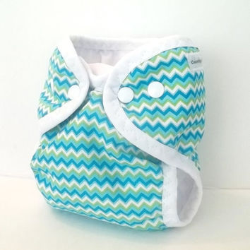 zig zag newborn cloth diaper cover with from. Black Bedroom Furniture Sets. Home Design Ideas