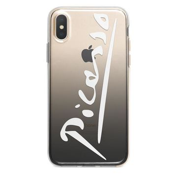 Pablo Picasso Signature iPhone XR case