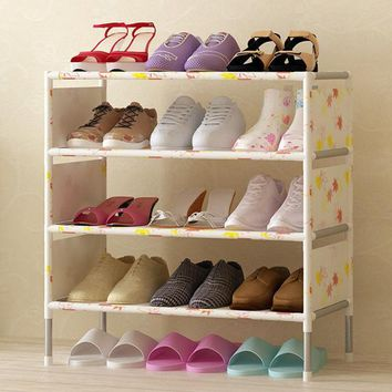 4 to 6 Layer Non-woven Shoe Display Organizer