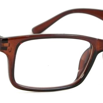 Retro Reading Glasses Classic Trayer Spring Hinge Frame Readers