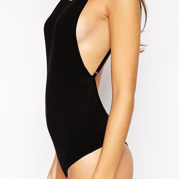 ASOS PETITE Exclusive Cami Backless Thong Body
